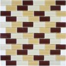 Elada Мозаика DM 105 песочно-коричневая Crystal