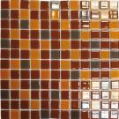 Elada Мозаика R 1361 кофейно-карамельный Crystal