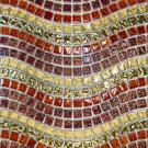 Elada Мозаика M8ECTY92-W красный микс Crystal+Stone Crystal+Stone