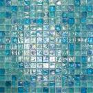 Elada Мозаика M8LА342 голубой микс Luster Glass