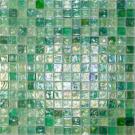 Elada Мозаика M8LА455 зелёный микс Luster Glass