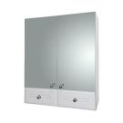 Aqualife Зеркальный шкаф Валенсия двойной с двумя ящиками