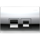 Geberit 115.135.21.1 смывная клавиша DELTA50 пластик-хром