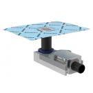 Geberit Душевой напольный трап в комплекте с решеткой для стяжки пола от 90 мм выпуск D50мм Арт 154.050.00.1