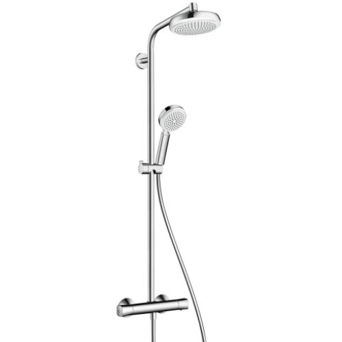 Crometta 160 1jet Showerpipe термостат д/душа 27264400
