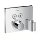 Hansgrohe Термостат ShowerSelect на 2 пользователя с шланговым подсоединением (наружная часть)