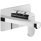 Nobili UP смеситель для раковины настенный UP 94198/1 CR