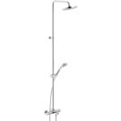 Nobili Tago душевой набор с термостатом для ванны (верхний душ 200мм, руч.лейка, шланг, излив) TG85310/30