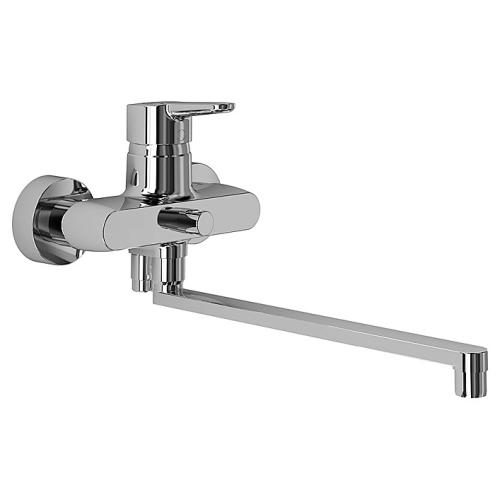 Коннект БЛУ смеситель для ванны/душа настенный длинный излив 320мм Ideal Standard B9923AA