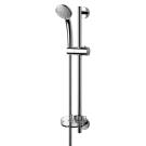 Идеал Рэйн набор душевой (лейка 3-функциональная d80 мм, штанга 600 мм, шланг 1750 мм, мыльница пластиковая прозрачная) Ideal Standart B9503AA
