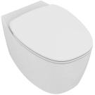 Деа Aquablade унитаз подвесной безободной, глубокий смыв, с сиденьем и крышкой плавного закрытия, с крепежом TT0299327, дюрпласт Ideal Standart T348801