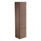 СофтМуд шкаф-пенал с 2-мя дверцами, система открытия пуш-пулл (без ручек)4 регулируемые стеклянные полочки, петли справа, орех Ideal Standart T7817S6