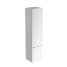 СофтМуд шкаф-пенал с 2-мя дверцами, система открытия пуш-пулл (без ручек)4 регулируемые стеклянные полочки, петли справа, глянцевый белый Ideal Standart T7817WG