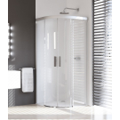 Hueppe 501 Design дверь раздвижная 2-створчатая прозрачная 100x100x190