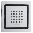 E3878-CP форсунка WATERTILE квадратная (хром) Jacob Delafon