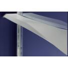 E614011L-00 душевая полочка TORSION левая /90/ Jacob Delafon