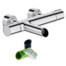 E8992-CP смеситель TOOBI ванна/душ термостат (хром) Jacob Delafon
