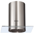 Вытяжка Berta Plus Maunfeld 900 мм нержавейка+прозрачное стекло