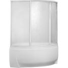 Шторка для ванны Флорида (пластик Вотер) BAS 160х90