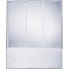 Шторка для ванны Ахин 3-x створчатые (стекло Грэйп) BAS 170 см