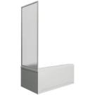 Шторка для ванны Ямайка боковая часть (стекло Грэйп) BAS 80 см