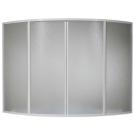 Шторка для ванны Ирис, Империал (пластик Вотер) BAS 150x150