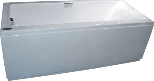 Appollo Ванна TS-9012 без г/м 170х75x60 (пустая ванна с сифоном и подголовником)