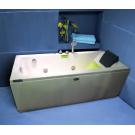 Appollo Ванна TS-9014 без г/м 180x80x60 (пустая ванна с сифоном и подголовником)