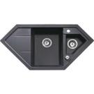 Мойка гранитная Teka ASTRAL 80 E-TG 88938 чёрный металлик 1002 x 500 мм 88938