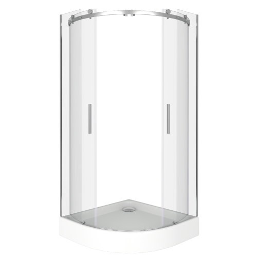 Bas Душевое ограждение Galaxy R-TD-100-C-CH