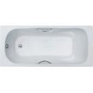Donni 170x80x41 Ванна чугунная (модель с отверстиями для ручек) Goldman