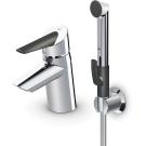 2702F Смеситель для умывальника с донным клапаном и ручным душем Oras