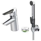 2715F Смеситель для умывальника с ручным душем smart bidetta и smart кнопкой Oras
