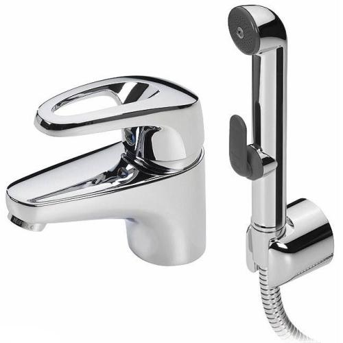 1012F Safira Смеситель для умывальника Oras с гигиеническим душем