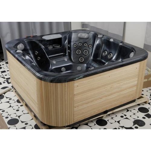 BALTECO Мини-бассейн ATLANTIS (с деревянной облицовкой) 233х233