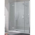 KERMI Душевая дверь KERMI Cuya XP 900x1850 левая профиль серебро, стекло прозрачное