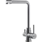 Lemark Эксперт Смеситель для кухни с подключением к фильтру питьевой воды сталь Чехия LM5060S