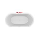 PALERMO 150х75 Ванна из литого мрамора  ALPEN в комплекте с сифоном