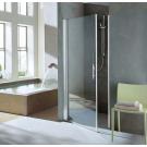 NOVELLINI Душевая дверь YOUNG 1В 900/960х1950 профиль серебр, стекло Aqua
