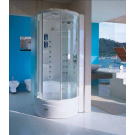 JACUZZI Кабина Flexa Tower ELT8 (фурнитура - хром) 108х108х232см
