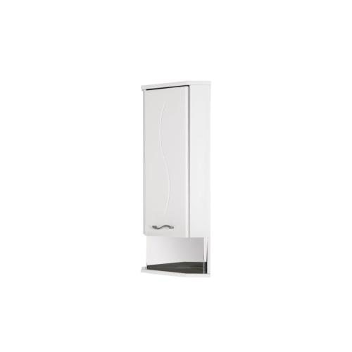 Шкаф навесной Aquanet Моника 35 R угловой белый