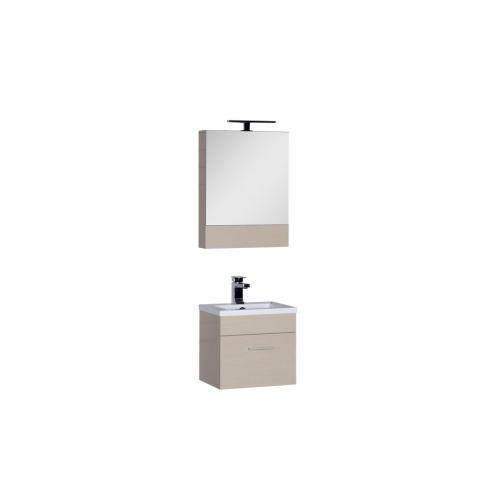 Набор мебели для ванной Aquanet Нота 50 светлый дуб