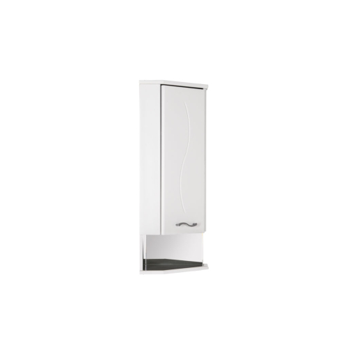 Шкаф навесной Aquanet Моника 35 L угловой белый