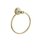 Держатель для полотенца (круглый) PALAZZO Золото и керамика Boheme 10105