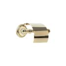 Держатель для туалетной бумаги с крышкой Hermitage Boheme 10350 золото