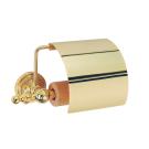 Boheme 10401 Держатель для туалетной бумаги с крышкой IMPERIALE золото