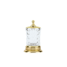Boheme 10415 Контейнер для ватных дисков IMPERIALE золото