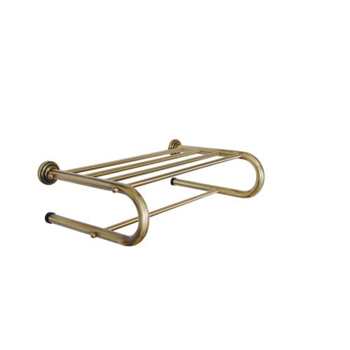 Boheme 10627 Полка для полотенец MEDICI бронза