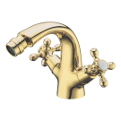 Смеситель для биде Tradizionale Oro Золото и Керамика двурычажный Boheme 296