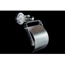 Держатель для туалетной бумаги с крышкой MURANO CRYSTAL Хром Boheme 10901-CRST-CH